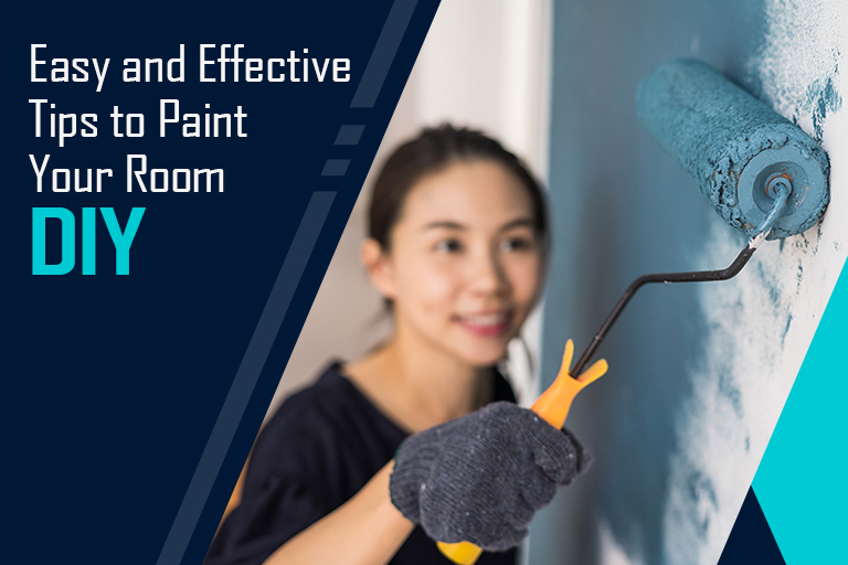 Easy and Effective Tips to Paint Your Room DIY